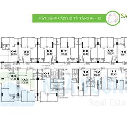 Bán căn hộ chung cư Sapphire Palace số 4 Chính Kinh, Nguyễn Trãi, Thanh Xuân: 121m2, 3 phòng ngủ
