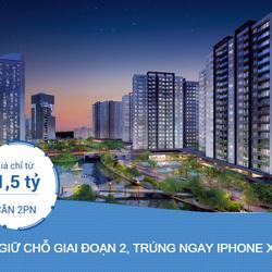 Nam Long mở bán giai đoạn 2 Mizuki Park, giá 1,5 tỷ/căn 2PN