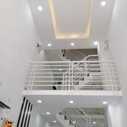 Bán rẻ nhà mới đẹp trệt 1 lửng 1 lầu trung tâm TP.HCM