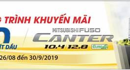 XE TẢI MISUBISHI FUSO CANTER 6 TẤN 2019