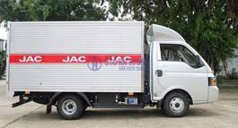 XE TẢI JAC X5 TẶNG 100 TRƯỚC BẠ