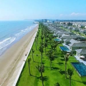 Khu resort 5  shophouse mặt tiền biển, sở hữu lâu dài. Hỗ trợ 60 phần trăm HĐ, 0LS