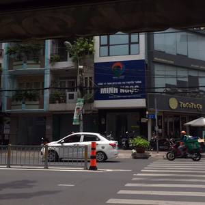 Phòng cho thuê mặt tiền đường Khánh Hội,Q4 có máy lạnh