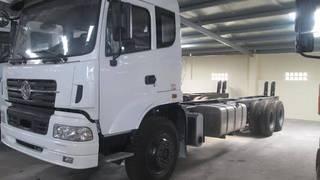 Xe tải thùng 4 chân  8x4  DongFeng Trường Giang trọng tải 18 tấn.