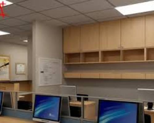 Văn phòng công ty đầy đủ đồ chỉ việc dọn đến và dùng luôn tại Trần Thái Tông - Duy Tân