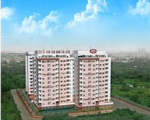 Cho thuê căn hộ Him lam Nam Sai Gòn H: BC Dt : 70 m2, 2PN,