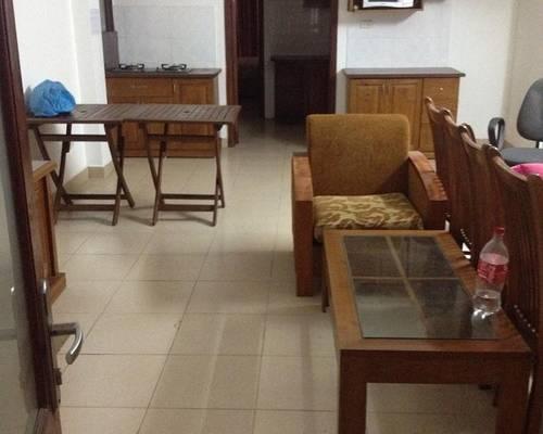 Cho thuê căn hộ phố hàm long gần nhà thờ lớn 70m2 đẹp đủ đồ giá 10tr/th