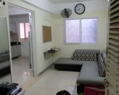 Cho thuê căn hộ tt tầng 2 phố tông đản 70m2, 1 k, 2 ngủ đủ đồ giá 7,5 tr