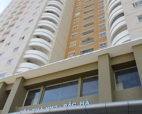Cho thuê văn phòng đường Tố Hữu:Tòa Tây Hà, Bắc Hà   mới, đẹp  sẵn trần sàn. 84-300 m2 -CHỈ 8/m2