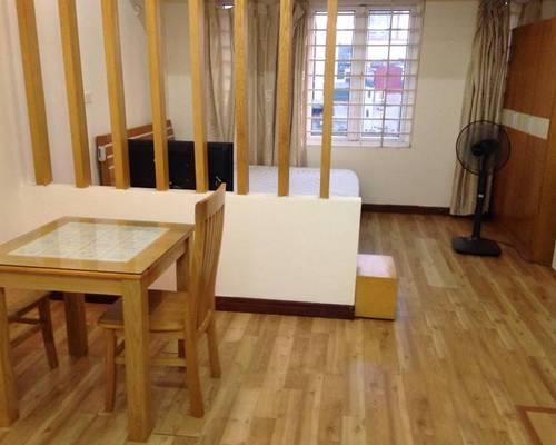 Cho thuê căn hộ đủ đồ phố Láng Hạ, diện tích 35m2 giá 6,5 triệu