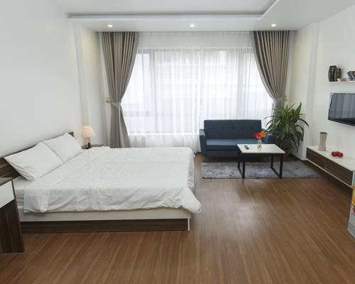 Chỉ 8,5tr Cho thuê 10 căn hộ đủ đồ cho người nước ngoài,nội thất đẹp tại Nguyễn Phong Sắc,Cầu Giấy