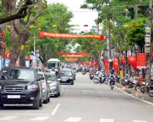 Cho thuê nhà mặt phố Phan Bội Châu, Hải Phòng