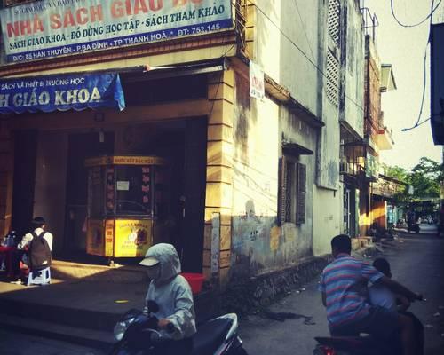 Cho thuê cả nhà hai mặt tiền phố Hàn Thuyên, TP Thanh Hóa
