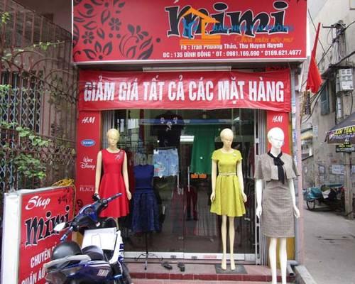 Sang nhượng toàn bộ cửa hàng thời trang nữ 135 Đình Đông, Lê Chân, Hải Phòng
