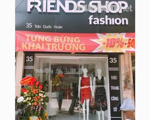 Sang nhượng shop thời trang mặt phố Trần Quốc Hoàn- Cầu Giấy