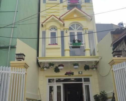 Nhà liền kề ngõ 100 Hoàng Quốc Việt ,63m2 x 4 Tầng, đường 12m