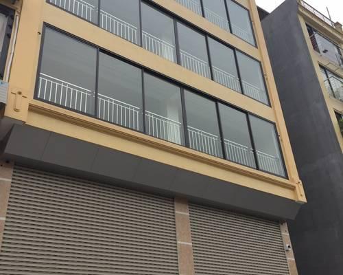 Cho thầu nhà mới xây 6 tầng x 155 m2 MT 10m, ở đông tác,
