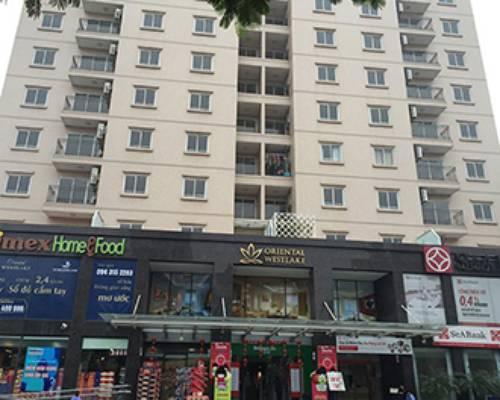 Cho thuê căn hộ chung cư số 174 Lạc Long Quân, Tây Hồ, Hà Nội