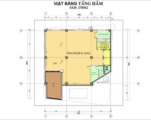 Cho thuê mặt bằng KD cực đẹp tại Thanh Xuân, DT 150m2x 2 tầng, MT 15m, có thang máy