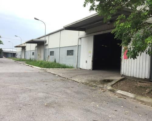 Cho thuê kho xưởng tại KCN Quang Minh, Hà Nội