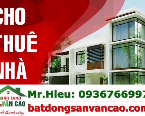 Cho thuê nhà trong ngõ Văn Cao