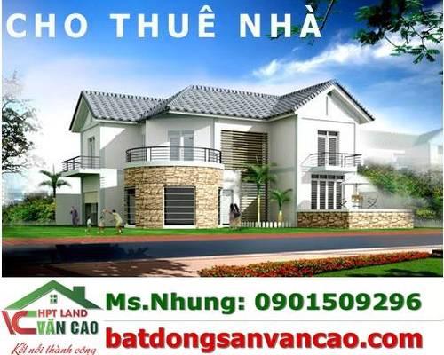 Cho thuê nhà trong ngõ đường Vạn Kiếp