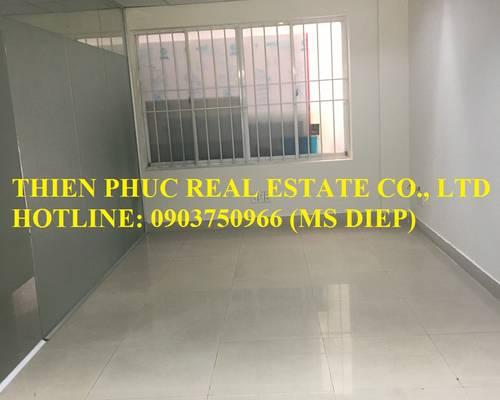Cho thuê văn phòng rẻ đẹp MT Nguyễn Phi Khanh, Q.1, 22m2, 9.8 triệu bao thuế điện lạnh