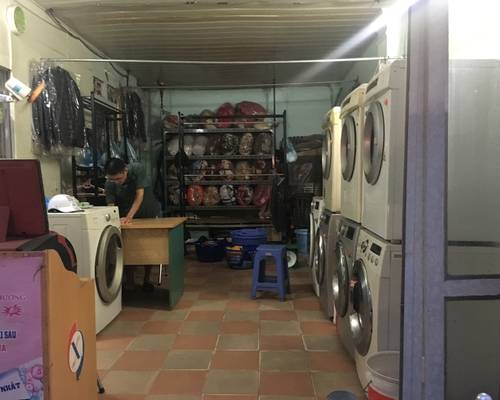 Sang nhượng cửa hàng giặt là Hà Nội