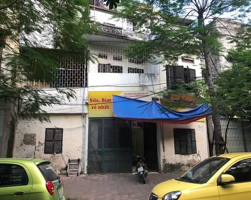 Cho thuê nhà mặt ngõ 158 phố Hồng Mai hai oto tránh nhau, vỉa hè 5m