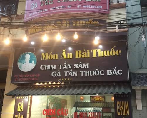Sang nhượng nhà hàng ăn 4 tầng mặt tiền Văn Cao Hải Phòng