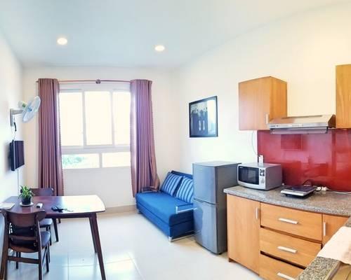 Căn hộ 1 phòng ngủ gần Vincom Plaza - A215