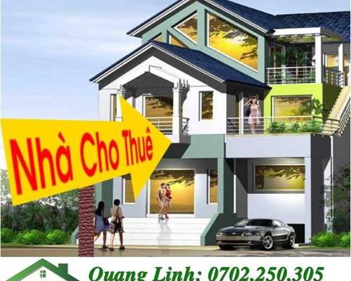 Cho thuê nhà trong ngõ Trung Lực