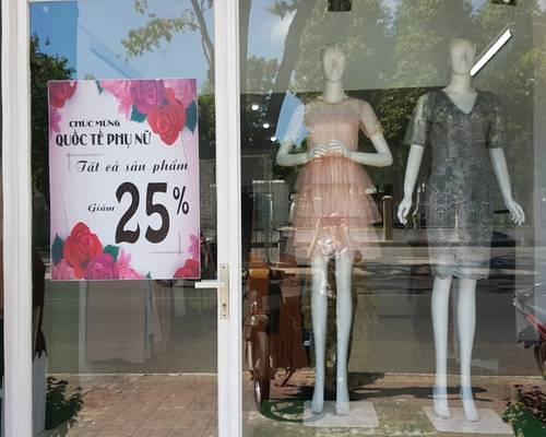 Sang shop thời trang nữ tại Cách Mạng Tháng Tám - TP Bà Rịa