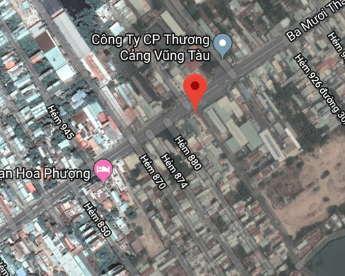 Cho thuê nhà mặt tiền đường 30/4 phường 11, Vũng Tàu  8,5x 27  230m2, giá 15,5 triệu