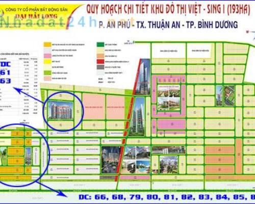Cho thuê đất lâu dài 8 triệu/tháng tại khu VSIP 1, Thuận An, Bình Dương