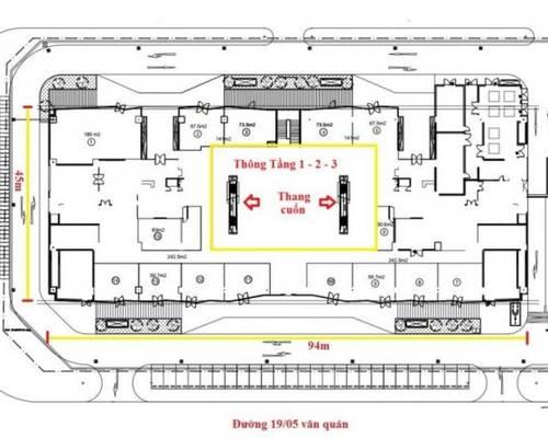 Thông báo cho thuê văn phòng tòa New Skyline Văn Quán   Hà Đông. Làm việc trực tiếp BQL