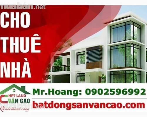 Cho thuê nhà mặt Đường Tô Hiệu, Lê Chân, Hải Phòng gần ngã tư trại lính