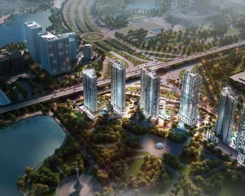 Cho thuê Văn phòng D Capitale Trần Duy Hưng  đối diện Big C  giá thuê từ 9 triệu/th