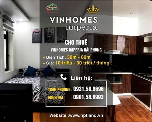 Cho thuê Shop Houses kinh doanh...full nội thất cao cấp để ở Vinhomes Imperia Hải Phòng