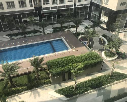 Cho Thuê Căn hộ SKYCENTER 80m2 2 phòng ngủ ,view Hồ bơi .