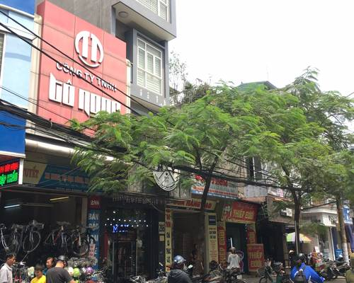 Cho thuê nhà mặt đường Lương Khánh Thiện. MT:5.5m-DT:100m2x4T