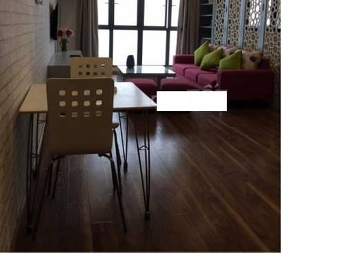 Cho thuê chung cư số 6 đội nhân 90m2 chia 2 ngủ full nội thất đẹp