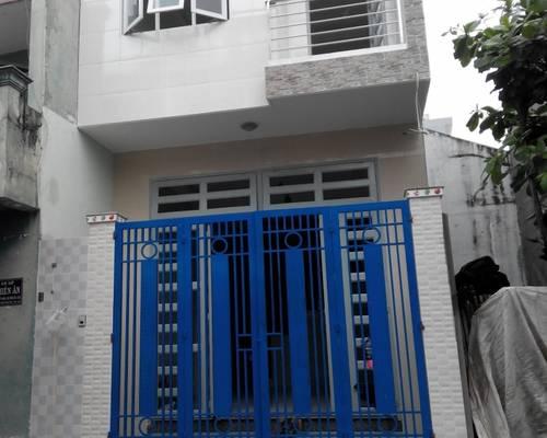 Cho thuê nhà 4m5 x 14m 1 trệt 2 lầu