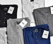 16 Áo phông nam henley hàng chuẩn đẹp từng chi tiết,các màu mới về ngập tràn,bán sỉ,bán lẻ giá tốt nhất