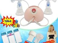 Máy hút sữa đôi Spectra DEW-350 - Giải pháp kích và hút sữa tốt nhất cho mẹ Có Quà Tặng...