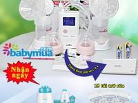 Máy hút sữa spectra 9s - Giải pháp hút và kích sữa tốt nhất cho mẹ văn phòng Có Quà...
