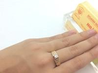 Nhẫn Nữ Magic Glo 14k Gold Diamond Ring Ladies USA