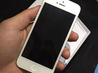 Iphone 5 Trăng 32 G hình thức đẹp, máy con gái dùng cho bác nào muốn dùng bền