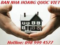 Bán nhà Khu vực Hoàng Quốc Việt - Q. Cầu Giấy - Hà Nội