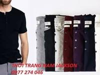 Áo phông nam henley hàng chuẩn đẹp từng chi tiết,bán sỉ bán lẻ giá tốt nhất trên toàn quốc